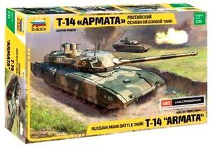 "Zvezda 3670 Russian MAIN BATTLE TANK T-14 ""ARMATA"" 1/35"