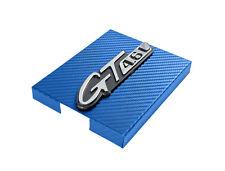 1998-2004 Mustang Blue Carbon Fiber Engine Fuse Box Cover w/ GT 4.6L Emblem