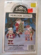 Lot521 Astor Place Heirloom Santas Cross Stitch Kit Christmas Eve WillmaurCrafts