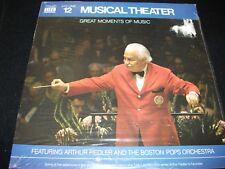 ARTHUR FIEDLER<>MUSICAL THEATER° TIME LIFE N0.1<>SEALED  LP Vinyl~USA Pressing<>