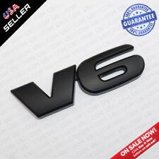 OEM Tacoma Pickup Truck V6 Black Out Tailgate Rear Body NamePlate Logo Emblem