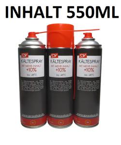 KÄLTESPRAY 1x 500ml Eisspray Vereisungsspray bis -45°C  Kälte Spray  Kühlspray