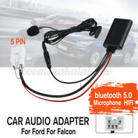 Car Audio bluetooth HIFI Cable Adapter Microphone Handsfree For Ford For Falcon