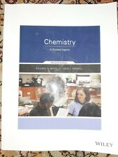 CHEMISTRY-GUIDED INQUIRY, USED Condition, 7TH EDITION MOOG FARRELL, WILEY PUB.