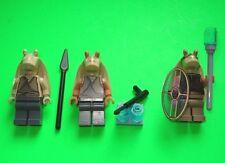 LEGO STAR WARS FIGUREN # 3 X GUNGAN JAR JAR BINKS TOLLPATSCH 7929 - 9499 # =TOP!