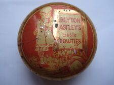 SCARCE C1900 VINTAGE BLYTON ASTLEY'S LITTLE BEAUTIES SMALL SWEETS/CACHOUS TIN
