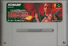 Nintendo Super Famicom Contra Spirits Japan SFC SNES