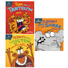 Sue Graves 3 books collection set Tiger Has a Tantrum,Monkey Needs to Listen NEW