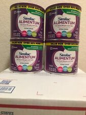 4 X Cans Similac Alimentum Hypoallergenic 19.8 OZ Infant Formula With Iron.