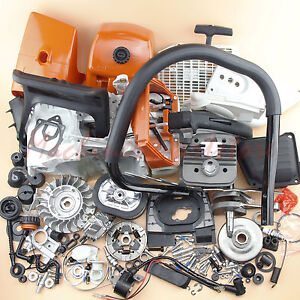 Complete Parts For Stihl MS660 066 Engine Motor Crankcase Cylinder Chainsaw