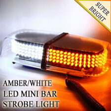 Zone Tech 240 LED Emergency Warning Roof Top Strobe Hazard Light Amber/White
