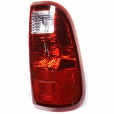 For F-350 Super Duty 08-16, CAPA Passenger Side Tail Light, Clear and Red Lens