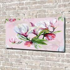 Glas-Bild Wandbilder Druck auf Glas 140x70 Blumen & Pflanzen Magnolie Blumen