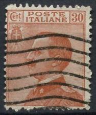 ITALIA 1917-23 SG n. 106, 30c Arancione Marrone Usato #D 8850