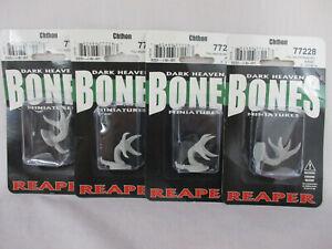 Reaper Miniatures Bones Lot of 4 CHTHON Miniature Figures 77228 NEW!!