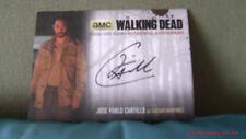the walking dead cards S4 P1 autograph jose pablo JPC2