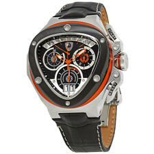 Tonino Lamborghini Spyder Black Dial Mens Watch 3005