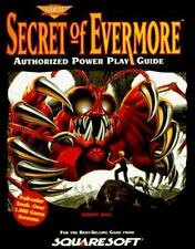 Secret of Evermore : Authorized Power Play Guide by Prima Publishing Staff, PCS…