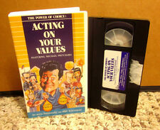 MICHAEL PRITCHARD Acting on Values VHS teen documentary Power of Choice TV
