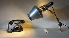 graziöse Original Hanau Sollux Quarzlampe Schreibtisch- Büro Lampe  '40er Jahre