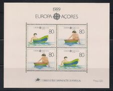 Portugal- Azores  1989  Sc #382  Europa  s/s  MNH  (41107)
