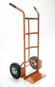 Mid Duty Splayed Twin Handled Sack Truck Ideal for Tall Loads OT1007W2