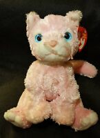 TY 10 Yrs BEANIE BABIES 2002 Carnation the Cat Beanie Baby