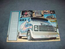 "1977 Dodge Tradesman Vintage Custom Van Article ""Alien"""