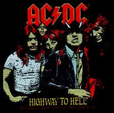 AC/DC - Patch Aufnäher - highway to hell neu 10x10cm