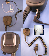 Security Lapel Shoulder Speaker Microphone for Motorola XTS500R GP2268 GP3268
