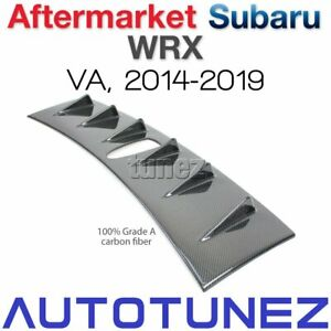 Carbon Fiber Vortex Generator Car Roof Fin For Subaru WRX STI VA 2014-2019 Tune