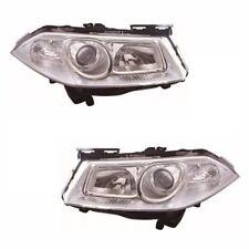 Renault Megane Mk2 Estate 2006-4/2009 Headlights Headlamps 1 Pair O/S & N/S