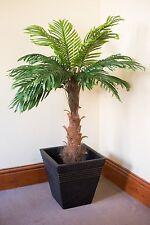 Artificial Coco Palm Tree 1m Tall-FREE 34cm Granite effect planter worth £12.99