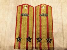 WW 2. Rare original Russian Soviet epaulettes 1943-1945 for tunic. погоны.