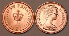 1971 Great Britain 1/2 New Penny UK Coin BU Very Nice KM# 914
