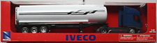 NewRay - Iveco Stralis Tank-Sattelzug blau/weiß 1:43 Neu/OVP