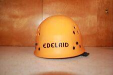 Ultralight Edelrid Climbing & Caving Helmet TC/H9 3 2007 Made in Germany Orange
