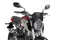 PUIG FRONTAL PLATE HONDA CB300R NEO SPORTS CAFE 18 CARBON LOOK