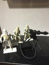 New listingStar Wars Hoth Stormtroopers And Cannon Action Figures x3 Potf
