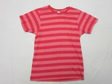 ALTERNATIVE APPAREL MENS RED STRIPED SLIM FIT S/S T SHIRT SIZE S SMALL NEW RARE