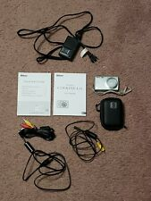 Nikon COOLPIX L15 8.0MP Digital Camera - Silver - includes case, cables, battery