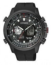 CITIZEN JZ1065-05E Promaster Air Eco-Drive Mens Alarm Watch WR200m RRP$ 649.00