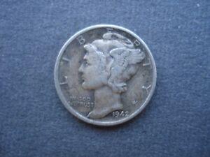 1942 Liberty Silver Dime USA