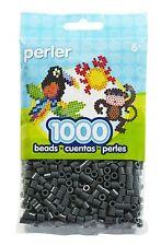 Bulk Buy: 5 x 1,000 Perler Dark Grey Color Iron On Fuse Beads 80-19092