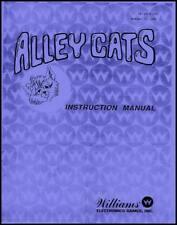 Alley Cats Bowling Operations/Service/Repair Manual/Arcade Game Puck Bowler   SA