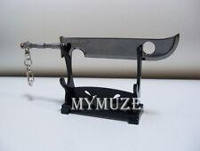Naruto Zabuza Momochi Sword Knife Model Key Chain