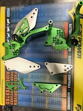 PRE-OWNED adjustable rear-sets 2006 Kawasaki ZX-10R (GREEN)
