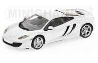 MINICHAMPS 530 133021 McLaren MP4-12C model car white 2011 Ltd 1:43rd scale