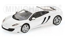 MINICHAMPS 530 133021 McLaren MP4-12C model car white 2011 Ltd 1:43rd scale