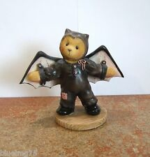 Enesco Cherished Teddies Barry #270016 I'm Batty Over You Halloween (CT16)
